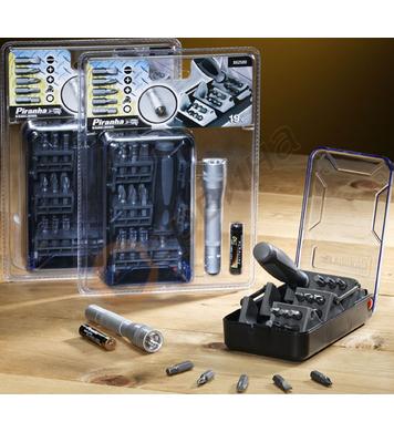 Комплект накрайници с ръкохватка и фенер 21 части Black&Deck