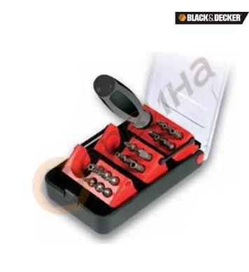 Комплект накрайници с ръкохватка 21 части Black&Decker X6257