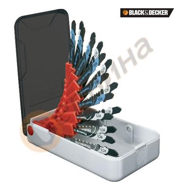 Комплект ножчета за прободен трион  Black&Decker X28170 - U