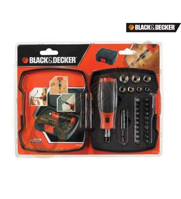 Комплект накрайници с ръкохватка Black&Decker A7174 - 29 час