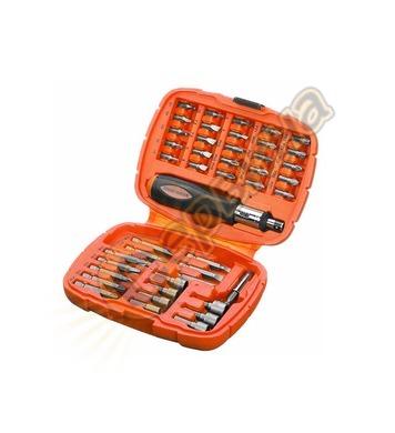 Комплект накрайници с ръкохватка  Black&Decker A7039 - 45 ча