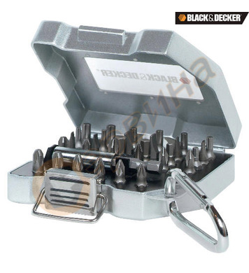 Комплект накрайници 31 части Black&Decker A7176