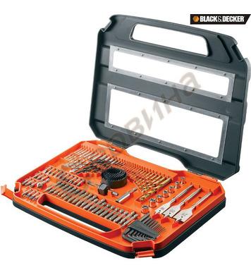 Комплект свредла и битове 100 части Black&Decker A7154