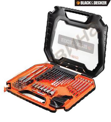 Комплект свредла и битове Black&Decker A7180 - 75 части