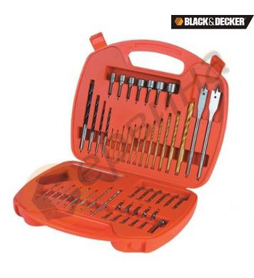 Комплект свредла и битове 50 части Black&Decker A7066