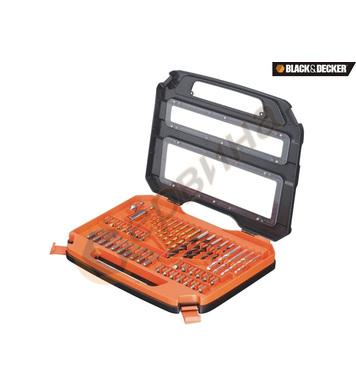 Комплект свредла и битове 50 части Black&Decker A7168
