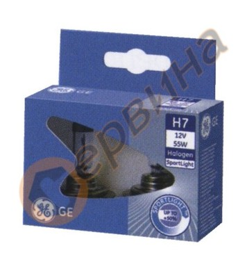 Халогенна лампа- фар H7 SportLight 12V 55W 2броя General Ele