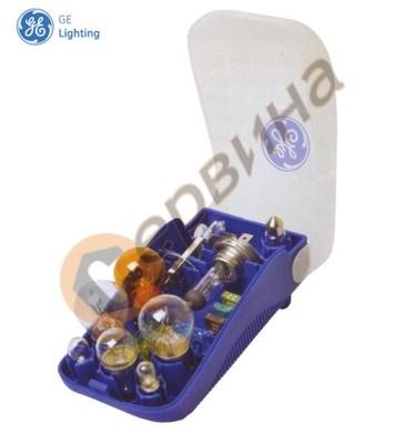 Помощен комплект H4 + 7лампи + 4бушона General Electric H4 K