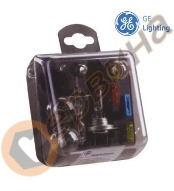 Помощен комплект H1 + H7 + 4лампи + 3бушона General Electric
