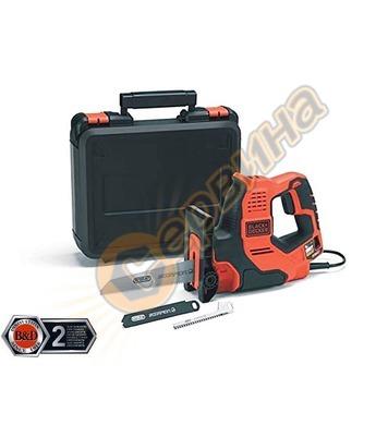 Електрически прав трион / ножовка Black&Decker RS890K - 500W