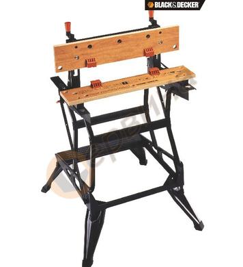 Работна маса с две нива Black&Decker WM550