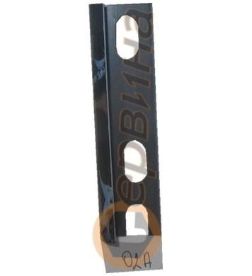 Ъглова външна лайсна PVC 8мм. 2,5м. 02A