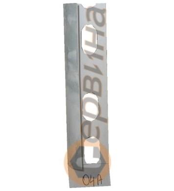 Ъглова външна лайсна PVC 8мм. 2,5м. 04A