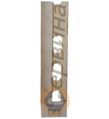 Ъглова външна лайсна PVC 8мм. 2,5м. 07A