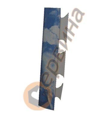 Ъглова външна лайсна PVC 8мм. 2,5м. 011A