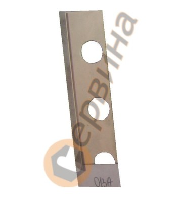 Ъглова външна лайсна PVC 8мм. 2,5м. 013A