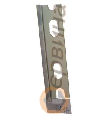 Ъглова външна лайсна PVC 8мм. 2,5м. 014A