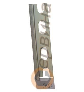 Ъглова външна лайсна PVC 8мм. 2,5м. 015A