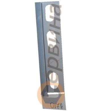 Ъглова външна лайсна PVC 8мм. 2,5м. 017A