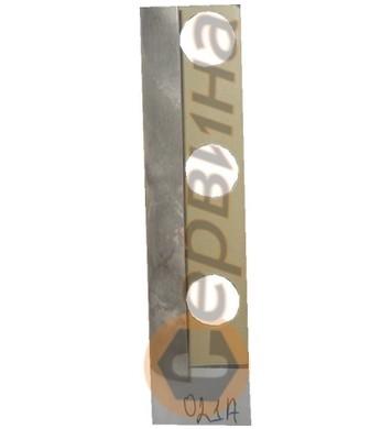 Ъглова външна лайсна PVC 8мм. 2,5м. 021A