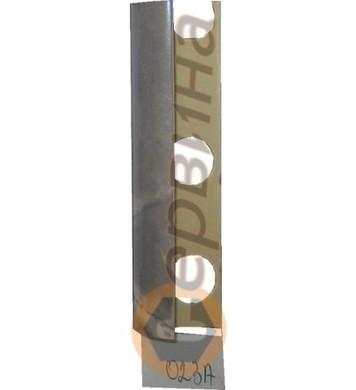 Ъглова външна лайсна PVC 8мм. 2,5м. 023A