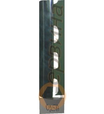 Ъглова външна лайсна PVC 8мм. 2,5м. 025A