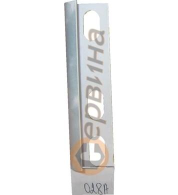 Ъглова външна лайсна PVC 8мм. 2,5м. 028A