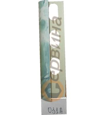 Ъглова външна лайсна PVC 8мм. 2,5м. 031A