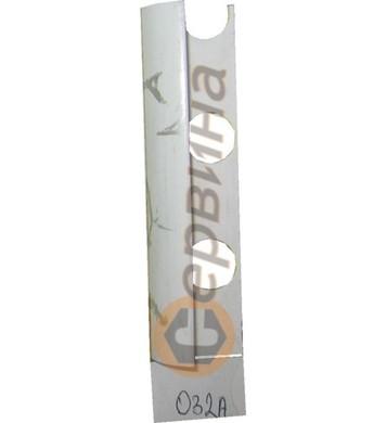 Ъглова външна лайсна PVC 8мм. 2,5м. 032A