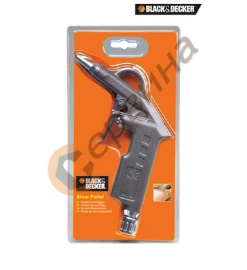 Пневматичен пистолет за въздух с къс накрайник Black&Decker