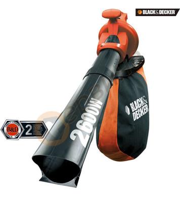 Градинска прахосмукачка Black&Decker GW2600 - 2600W