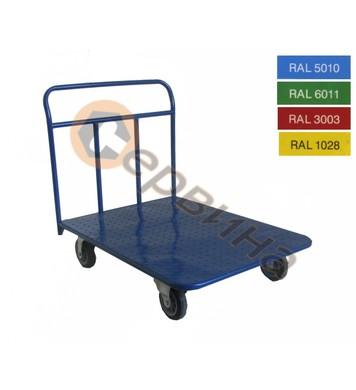 Ръчна количка 400кг. 900х600мм. ф160мм. 2160S-V24K160