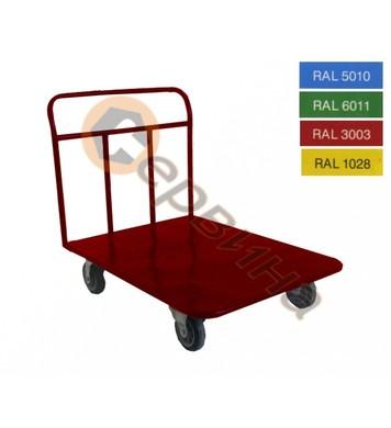 Ръчна количка 400кг. 920х650мм. ф160мм. 2160S-S24K160