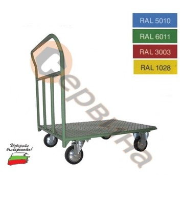 Ръчна количка 400кг. 920х650мм. ф160мм. 2160S-V71K160