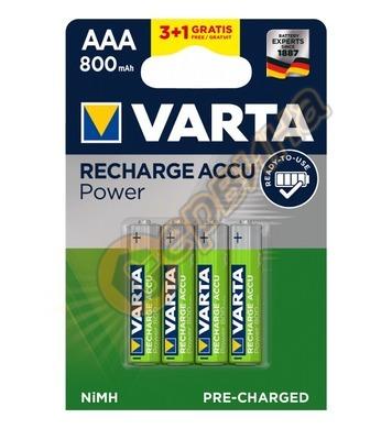 Акумулаторна батерия Varta ААA 1,2V 800mAh NiMH Ready2use 4б