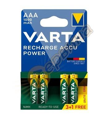 Акумулаторна батерия Varta ААA 1,2V 1000mAh NiMH 4бр. DE7051