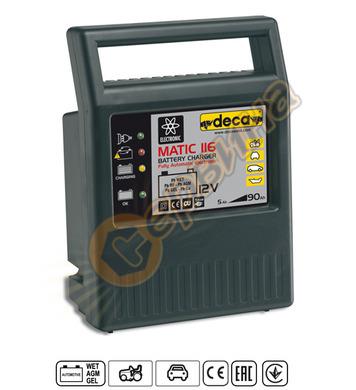 Зарядно за акумулатор Deca Matic116 300300 - 12V/6A 5-90Ah