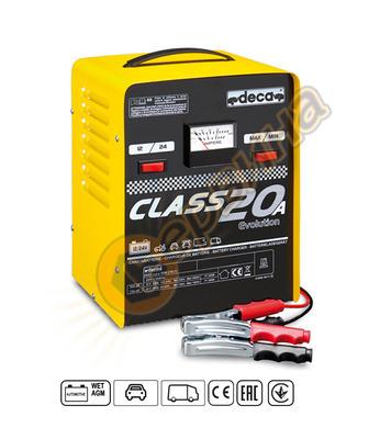Зарядно за акумулатор Deca Class20A 310600 12-24V/20A - 10-2