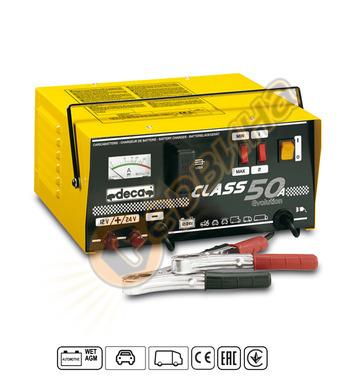 Зарядно за акумулатор Deca Class 50A 12-24V/50A 318900 - 15-