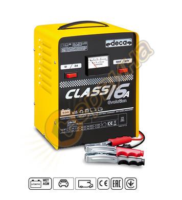 Зарядно за акумулатор Deca Class 16A 12-24V/16A 310000 - 20-
