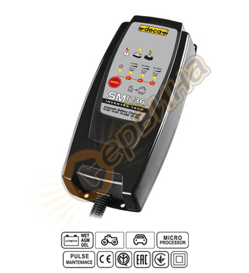 Зарядно за акумулатор инвертор Deca SM1236 12V/3.6A 300700 -