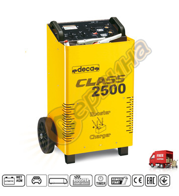 Стартиращо и зарядно устройство Deca Class 2500 378100 12/24
