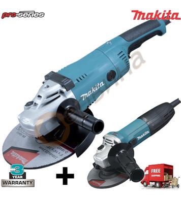 Комплект ъглошлайфи Makita GA9020-GA5030