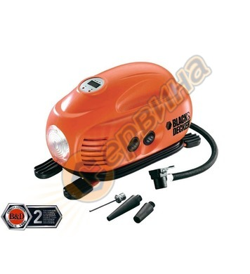 Портативен въздушен компресор Black&Decker ASI200