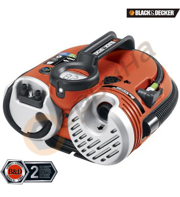 Портативен въздушен компресор Black&Decker ASI500