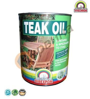 Масло за дърво Teak Oil 0,750мл. Vivechrom