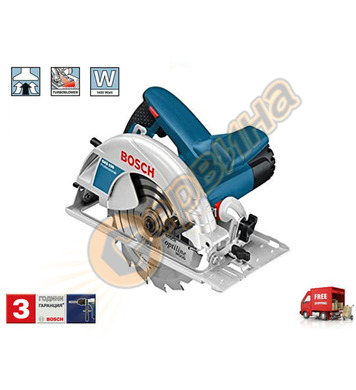 Ръчен циркуляр Bosch GKS 190 Blue force Professional 0601623