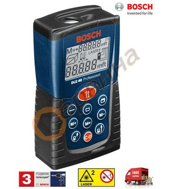 Лазерна ролетка Bosch DLE 40 Professional 0601016300 - 0.05-