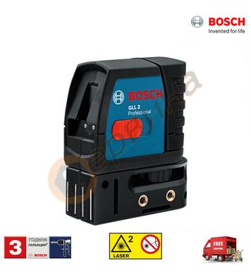 Лазерен нивелир Bosch GLL 2-15 0601063701 - 10м