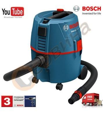 Прахосмукачка за сух и мокър режим Bosch GAS 20 L 060197B000